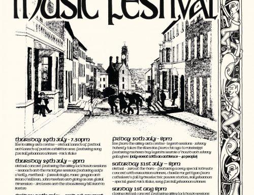 Ballyshannon Folk & Traditional Music Festival Official Poster